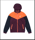 Nike Sportswear Windrunner Men's Size 2XL Jacket Maroon/Citrus 727324 681 NEW