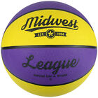 Midwest Yellow & Purple League Basketball Game Rubber Training Indoor & Outdoor
