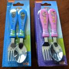 Girl Pink or Boy Blue Paw Patrol Silverware Set Flatware Fork  Spoon NEW