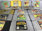 N64 Games 100% Authentic All Original Nintendo 64 lot FAST FREE SHIPPING