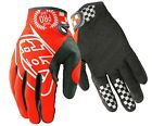 Troy Lee Designs SE Pro Dirt Bike Gloves Orange Black White 2014 MX BMX MTB