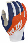 Klim Mens Orange/White/Blue XC Dirt Bike Off Road Gloves MX ATV