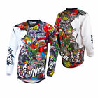 O'Neal Mens Multi Mayhem Lite Crank Dirt Bike Jersey MX ATV 2019
