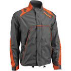 Thor Mens Charcoal Grey/Orange Range Dirt Bike Jacket MX ATV 2018