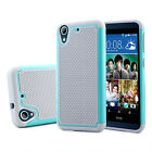 Rubber Rugged shockproof Hard Cover For HTC Desire 626 / 626S /530/630 Case USA