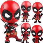 Deadpool Car Bobble Head Shake Head Doll PVC Action Figure Collectible Model Toy