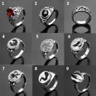 Game Dark Souls 3  Rings Dark Souls Equipment Silver cat Cosplay Party Ring Acce