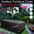 170cm/270cm Garden Table Cover Waterproof Patio Table Protection Furniture Large