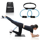 Women Booty Butt Band Workout Resistance Belt,Tone Firm Gym Fitnesss Exercise  image