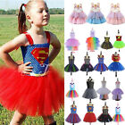 Kid Girls Unicorn Disney Frozen Marvel Fancy Dress Up Cospla