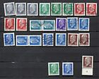 GERMANY DDR STAMPS 1961-71 WALTER ULBRICHT DEFINITIVES USED AND MNH