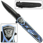 Wavelength United States Navy Assisted Frame Lock Tactical Folding Pocket Knife