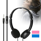 Retractable Foldable Stereo Bass Earphone Headphones Headset with Mic for Kids