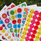 10pcs Kids Reward Stickers School Teacher Merit Praise Reward Sticker Toys JC