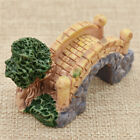 Simulation Stone Bridge Statue Figurine Miniature Dollhouse Garden DIY Decor