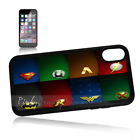 ( For iPhone XS MAX ) Back Case Cover P11437 Batman Superman Hero