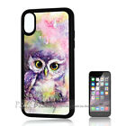 ( For iPhone XS MAX ) Back Case Cover P11469 Cute Owl