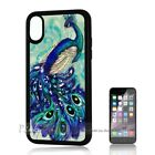 ( For iPhone XS MAX ) Back Case Cover P30159 Peacock