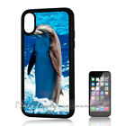 ( For iPhone XS MAX ) Back Case Cover P11312 Dolphin