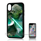 ( For iPhone XS MAX ) Back Case Cover P11058 Starwars Yoda