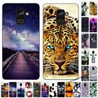 For Samsung Galaxy A3 A5 A6 A7 A8 Plus 2016-2018 Painted Soft Phone Case Cover