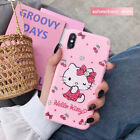 Hello Kitty Cartoon Matte Soft Phone Case Cover For IPhone XSMAX XR X 8/7/6 Plus