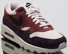 Nike Air Max 90/1 Women Lifestyle Shoes Oil Grey Red Sepia AQ1273-200