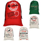 Christmas Stocking Xmas Gift Bag Holiday Canva Bag Spot Cotton Drawstring Bundle