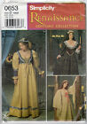 "CHOICE UNCUT Simplicity Renaissance Costume Collection Pattern ""Misses"