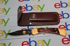 BUCK 110 ALASKAN GUIDE BOS S30V POCKIT KNIFE W/SHEATH NEW FREE SHIPPING......