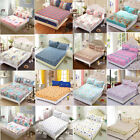 High Quality Luxuriou Polyester Floral Fitted Sheet Pillow Cases Bedding Set  image