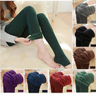 US Women Thick Warm Fleece Leggings Lined Thermal Stretchy Slim Skinny Pant HOT