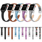 Genuine Leather iWatch Wrist Strap Band Bracelet for Apple Watch Series 4 3 2 1 image