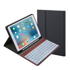 """Bluetooth Keyboard Backlit Leather Case Detachable Cover for iPad Pro 10.5"""" 2017"""