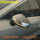 Kibowear for Audi A3 8V S3 S line Dynamic Side Mirror light LED Turn Signal Indi