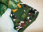 GREEN CAMO Body Harness Vest S Pet Dog new choke free Handsome Pete New pup