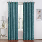 2 Pack: Regal Home Metallic Thermal Blackout Grommet Curtains - Assorted Colors