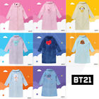 BTS BT21 Official Authentic Goods Winter Pajamas Flannel Night Dress+Track #