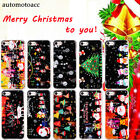 3D Christmas Snowman Santa Phone Case Cover For iPhone X Xs Max XR 6S/7/8 Plus