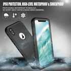 Redpepper Waterproof Dust Shockproof Stand Full Case Cover for iPone XS Max