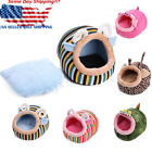 Soft Animal Shape Pet Dog Cat Bed House Kennel Puppy Warm Cushion Basket Pad S-L