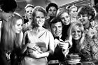 On Her Majesty's Secret Service at gaming table with James Bond girls 24X36