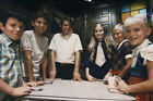 The Brady Bunch cool pose of the Brady kids playing cards at table 24X36 Poster