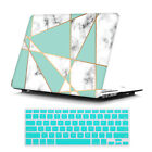 "Marble Matte Hard Case Shell+ Keyboard Skin for MacBook AIR PRO 11"" 13"" 15"" 2018"
