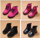 Boy Girl Unisex Kids Tollder Martin Ankle Boots Miltary Waterproof Shoes Cool