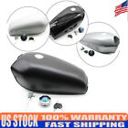 52x18cm Steel Motorcycle Fuel Tank Cover Kit+Key 2.4Gal Front Fit For Honda CG12