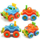 1pc DIY Disassembly Vehicles Model Building Kits Toys for Kids Funny Games