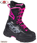 New 2019 FXR X-Cross Women's Speed Boot Black/Fuchsia Snowmobile 6 7