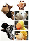 1X Plush Velour Animal Hand Puppets Child Kids Educational TOY Preschool F3