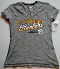 PITTSBURGH STEELERS WOMEN'S NFL TEAM APPAREL SHORT SLEEVE  T SHIRT S M L XL NWT $21.99 USD on eBay